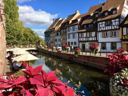 كولمار ، فرنسا ، الألمانية ، المدينة القديمة ، المطبخ الألزاسي ، بيت فيستر ، متحف أنتيرليندين