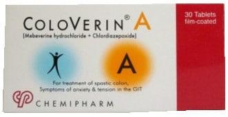 صورة, عبوة ,كولوفيرين أ, Coloverin A