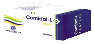 صورة , عبوة , دواء , أقراص , علاج الصرع , كوميدال ل , Comidal L