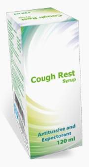 صورة,دواء, عبوة, كف ريست, Cough Rest