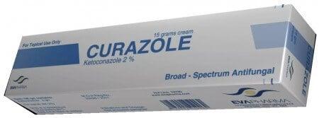 صورة , عبوة , دواء , كريم كيورازول , علاج التينيا , Curazole