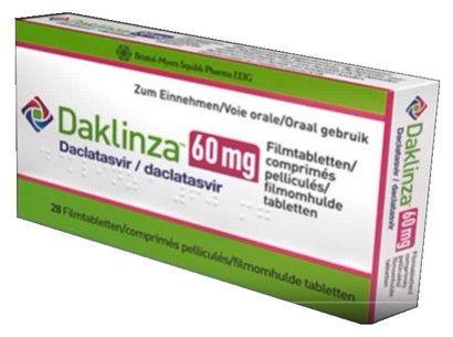 صورة,دواء,علاج, عبوة, دكلانزا , Daklinza