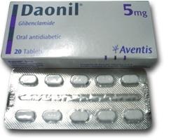 صورة , عبوة , دواء , أقراص , داونيل , Daonil