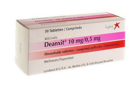 صورة , عبوة , دواء , أقراص , لعلاج التوتر والقلق , ديانكسيت , Deanxit
