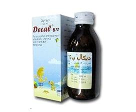 صورة, دواء, علاج, عبوة, ديكال ب١٢ , Decal B12