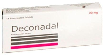 صورة,دواء, عبوة, ديكونادال , Deconadal
