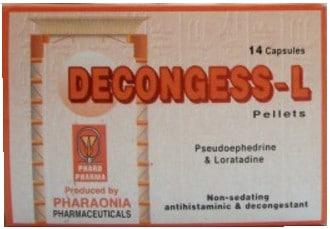 صورة, عبوة, ديكونجس إل, Decongess L