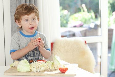 وجبات لأطفال المدارس , صورة , طفل