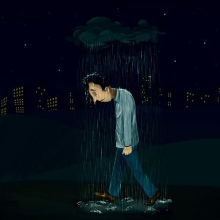 صورة , الإكتئاب , الضغط النفسي