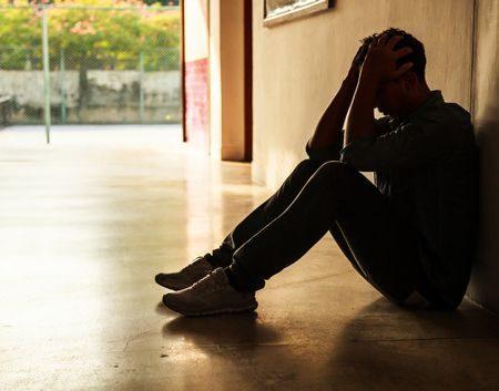 صورة , رجل , الإكتئاب , الحزن , أعراض الاكتئاب