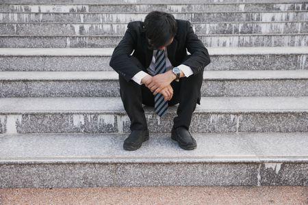 صورة , رجل , الحزن , الكآبة , الإكتئاب النفسي