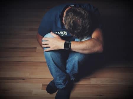 الاكتئاب ، صورة، رجل