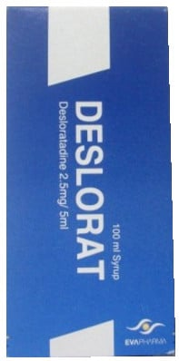 صورة, عبوة, شراب, ديسلورات, Deslorat