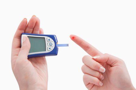 صورة , السكري , نسبة السكر , قياس السكر