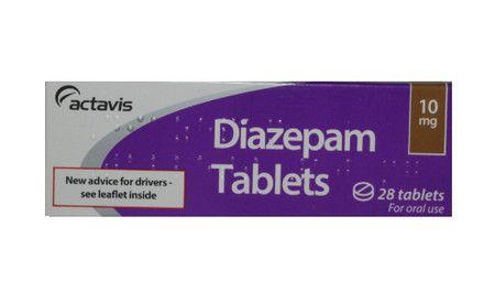 صورة , عبوة , دواء , لعلاج اضطرابات القلق , ديازيبام , Diazepam
