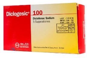 صورة, عبوة, ديكلوجيسيك, Diclogesic