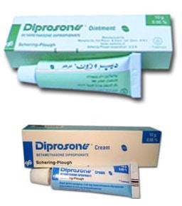 صورة , عبوة , دواء , ديبروزون , Diprosone