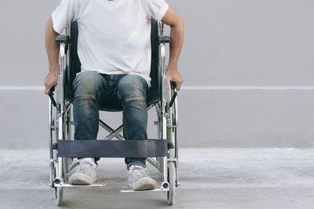 صورة , رجل , الإعاقة , الطب التأهيلي