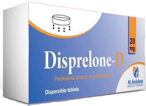 صورة , عبوة , دواء , أقراص , ديسبريلون د , Disprelone-D