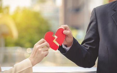 صورة , الطلاق العاطفي , الإنفصال