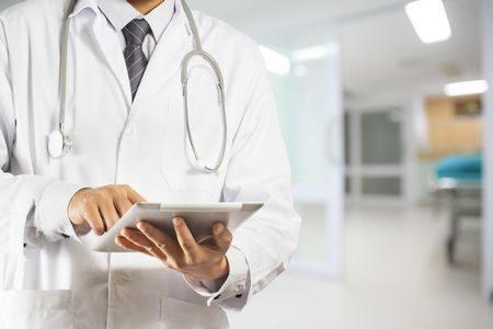 دكتور ، مرض التيفود ، صورة ، Doctor