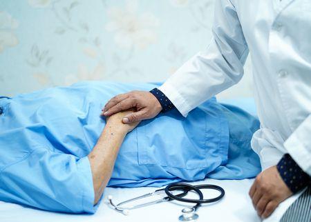 صورة , طبيب , مريض , التهاب الكبد الوبائي
