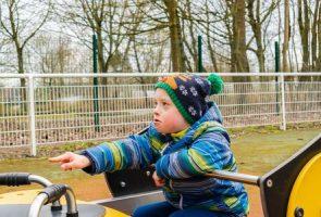 صورة , طفل , مريض , الإعاقة , متلازمة داون