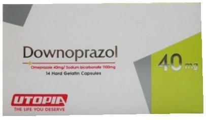 صورة, عبوة, داونوبرازول, Downoprazol