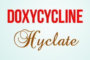 صورة,تصميم, دوكسيسايكلين هايكلات , Doxycycline Hyclate