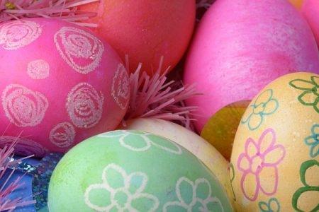 صورة , بيض ملون , شم النسيم , الطعام الصحي