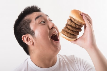 Eat fast،الأكل ،سرعة،صورة
