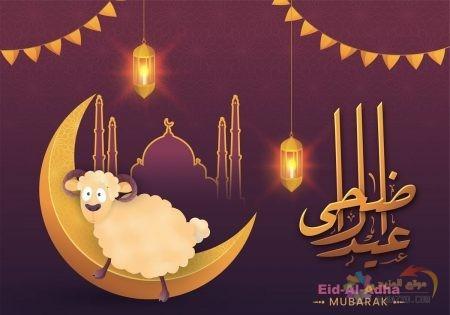 تهاني عيد الأضحى، عيد الأضحى المبارك، عيد مبارك، تهاني العيد، رسائل تهاني العيد، صورة, تهاني للحبيب