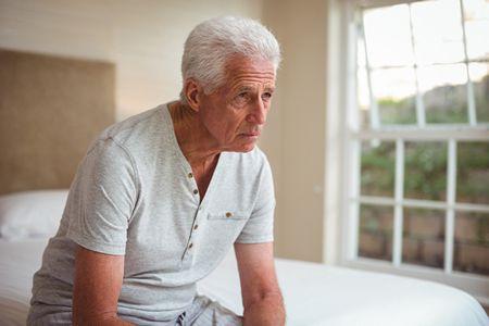 صورة , رجل , الهلوسة , كبار السن