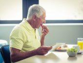 صورة , رجل , النظام الغذائي , كبار السن