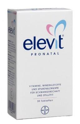 صورة , عبوة , دواء , أقراص , مكمل غذائي , إيليفيت بروناتال , Elevit Pronatal