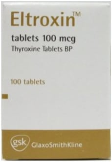 صورة, عبوة, التروكسين, Eltroxin