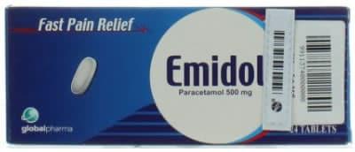 صورة,دواء, عبوة ,إميدول, Emidol