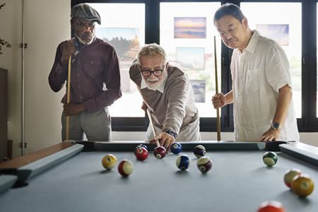 أهمية الترفيه , كبار السن