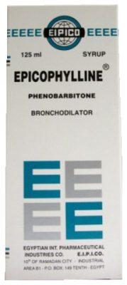 صورة, عبوة ,إبيكوفيللين فينوباربيتون,Epicophylline Phenobarbitone