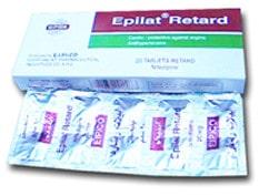 صورة , عبوة , دواء , أقراص , إبيلات ريتارد , Epilat Retard