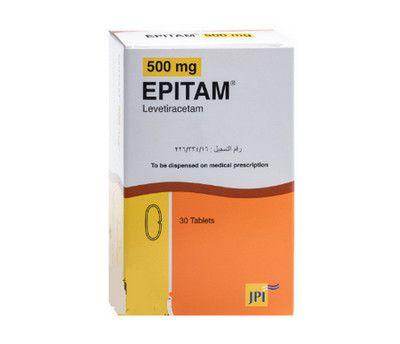 صورة , عبوة , دواء , لعلاج الصرع و ابيتام , Epitam