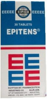 صورة, عبوة, إبيتنس, Epitens