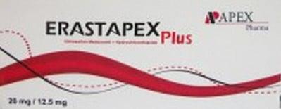 صورة , عبوة , دواء , أقراص , إيراستابكس بلس , Erastapex Plus