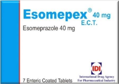 صورة,دواء,علاج,عبوة, إزوميبكس , Esomepex
