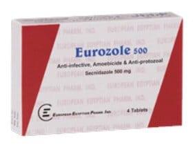 صورة,دواء,علاج, عبوة, يوروزول , Eurozole
