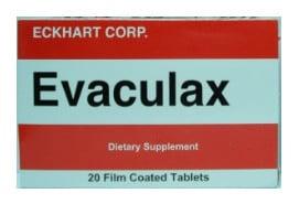 صورة , عبوة , دواء , أقراص , علاج إضطرابات الإخراج , إيفاكيولاكس , Evaculax