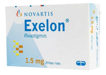صورة,دواء,علاج, عبوة, إكسيلون , Exelon