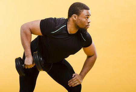 صورة , رجل , ممارسة الرياضة , التمارين الرياضية