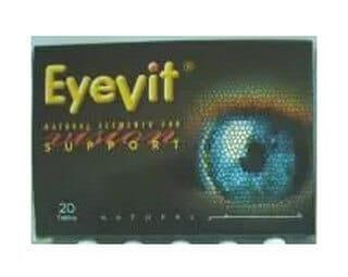 صورة ، عبوة ، آي فيت ، أقراص ، EyeVit