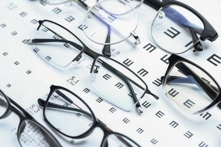 صورة , النظارات الطبية , مشاكل النظر